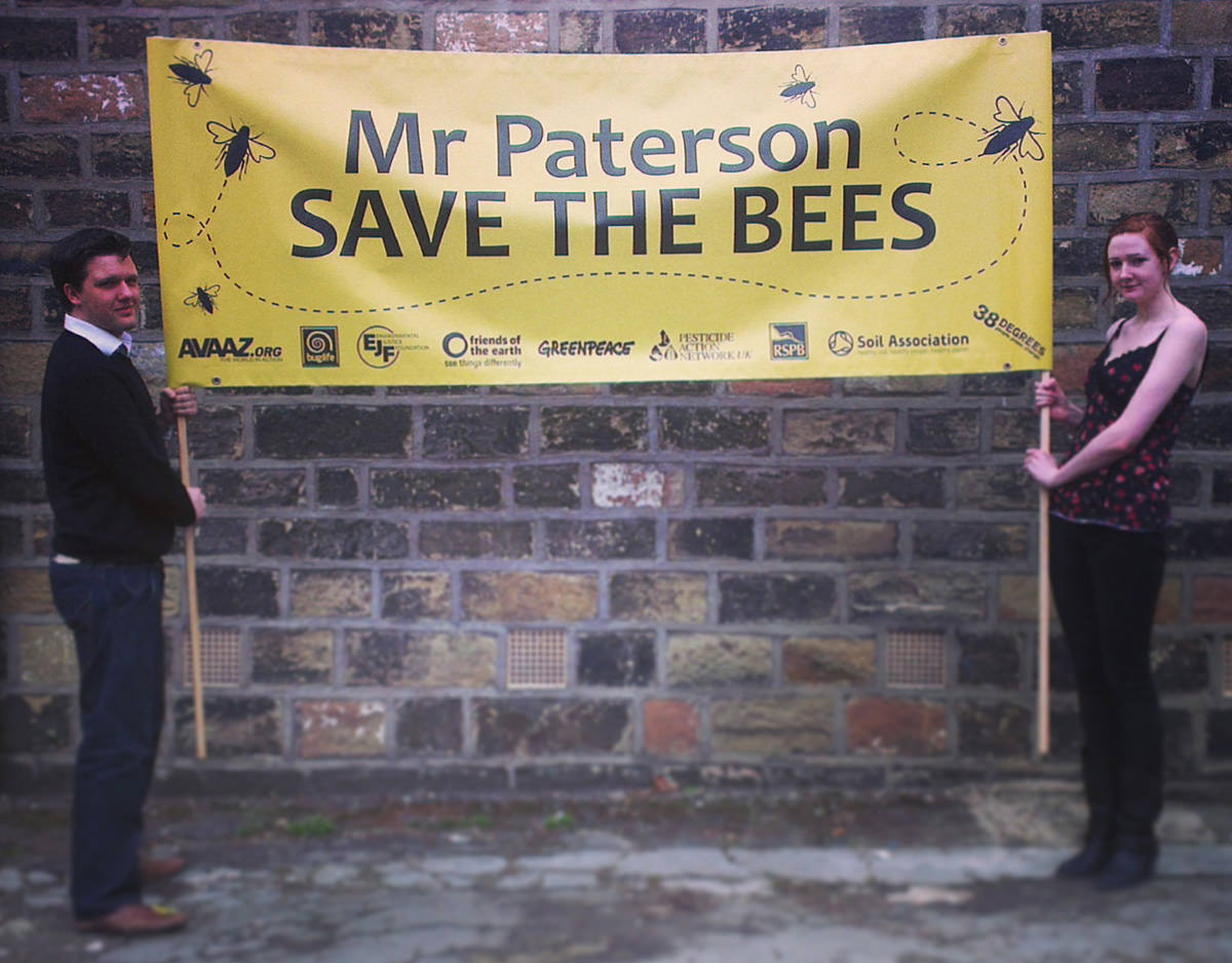 Printed Placards - Save the Bees 1 2