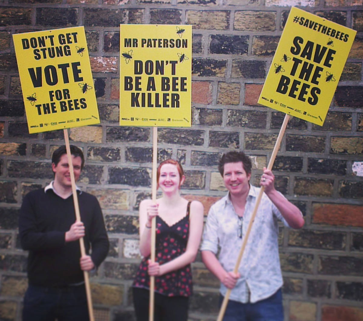 Printed Placards - Save the Bees 1 3