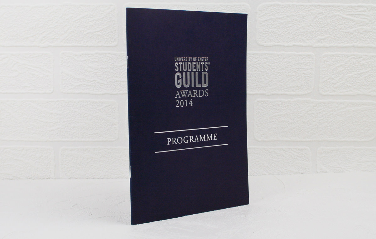 Silver Foil Printed Award Programme SM-31