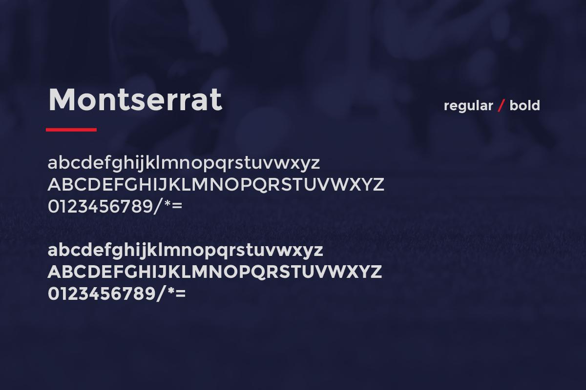 4 Primary Typeface