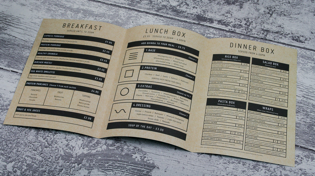 Menus and Leaflets - Wahu Restaurant-8