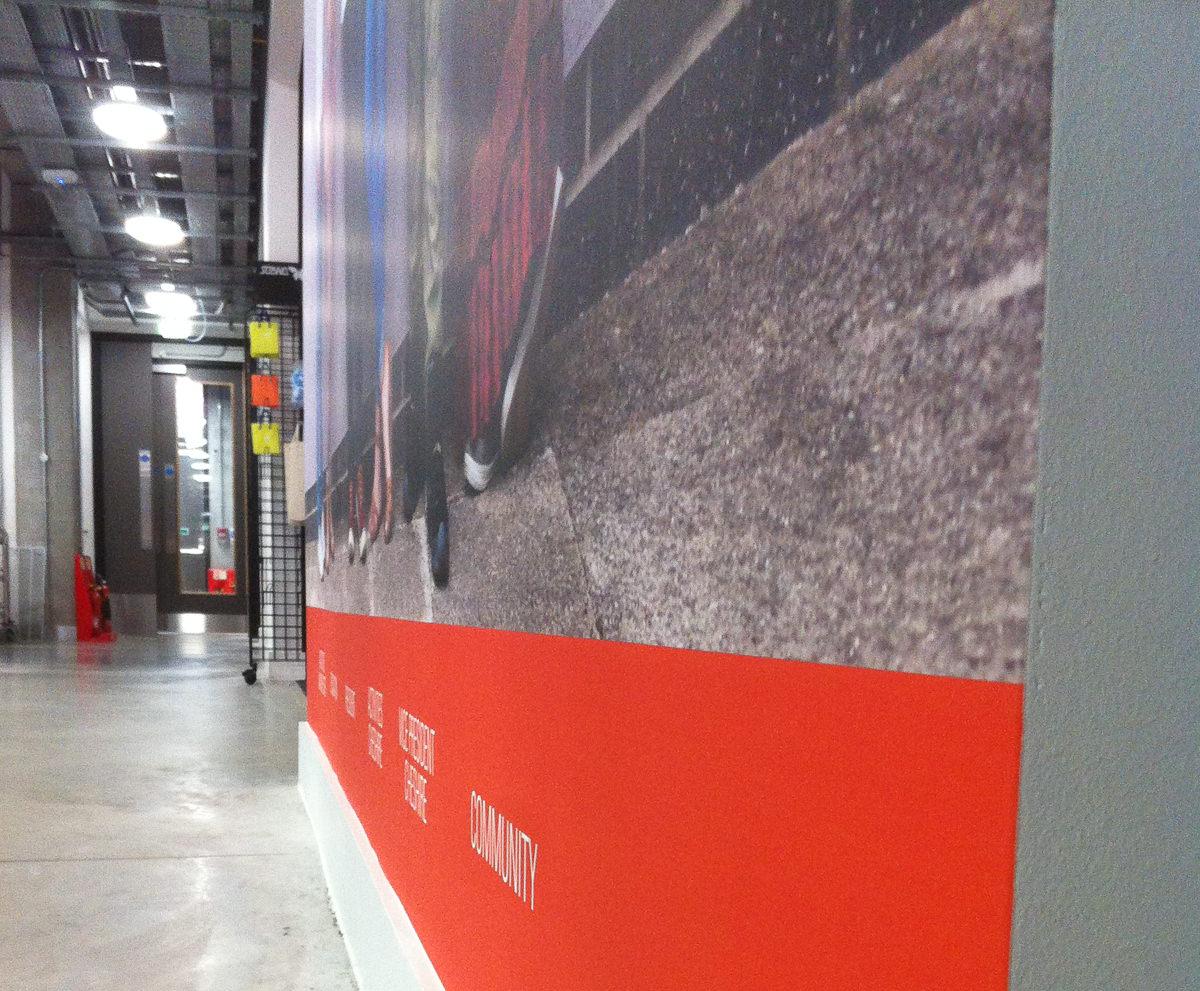 Wall Graphics - Manchester Metropolitan Union-7