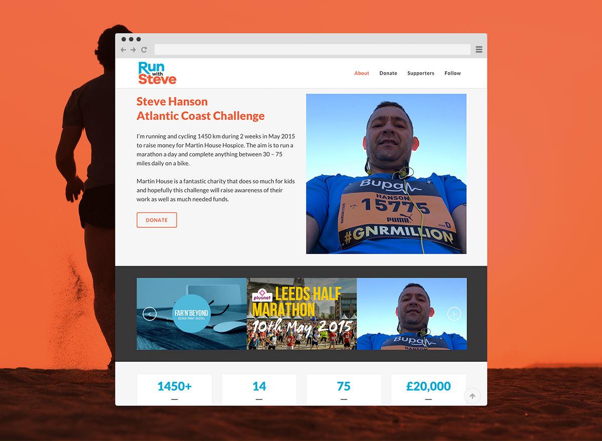 Run with Steve Website by FarnBeyond