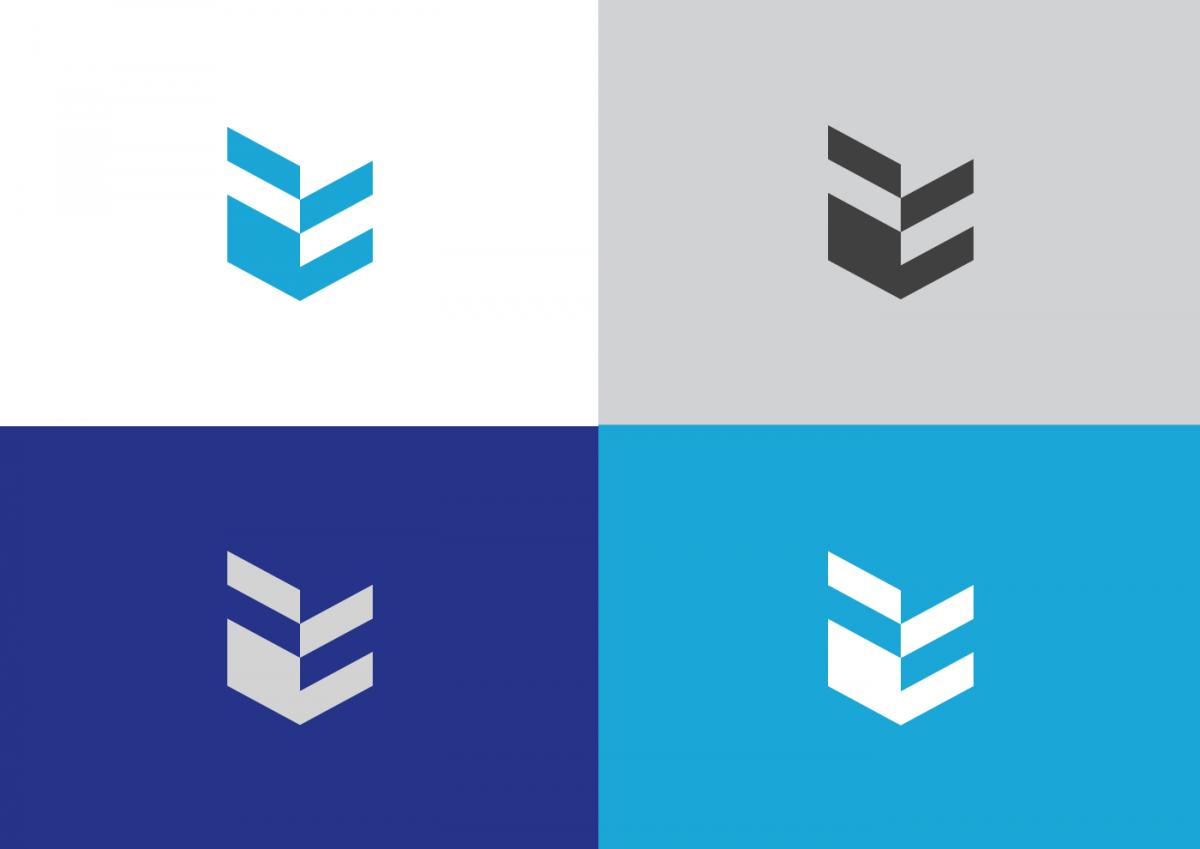 logomark with colour