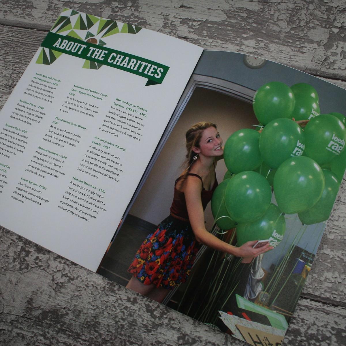 Magazine Printing - Leeds Rag SM-17