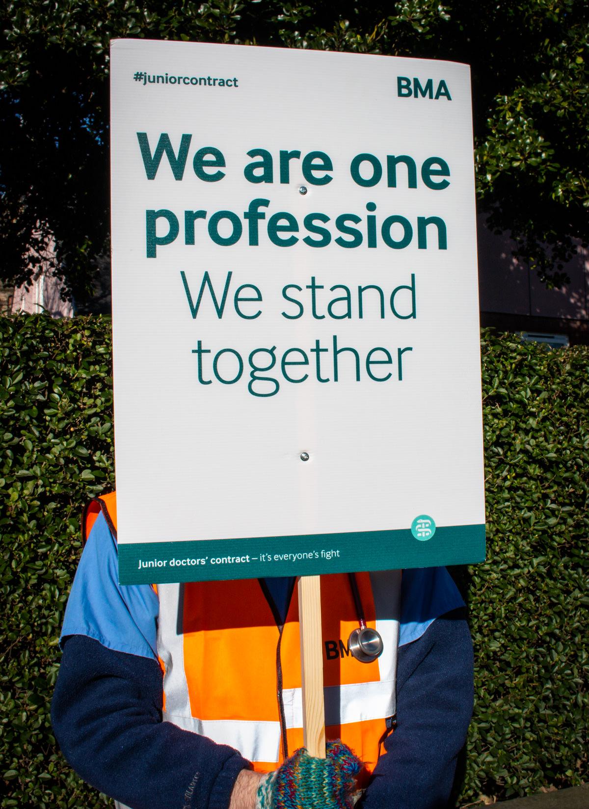 Placard Printing - British Medical Association-12