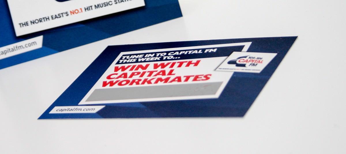 Scratch Cards Capital FM-2