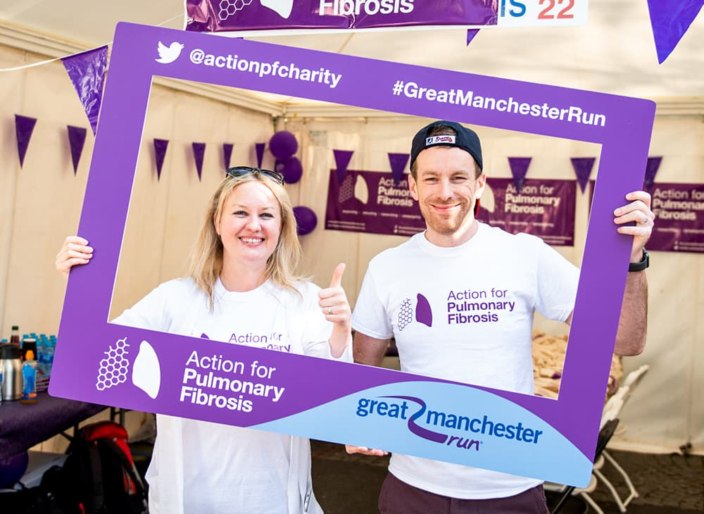 Selfie Frame Printing – Action for Pulmonary Fibrosis