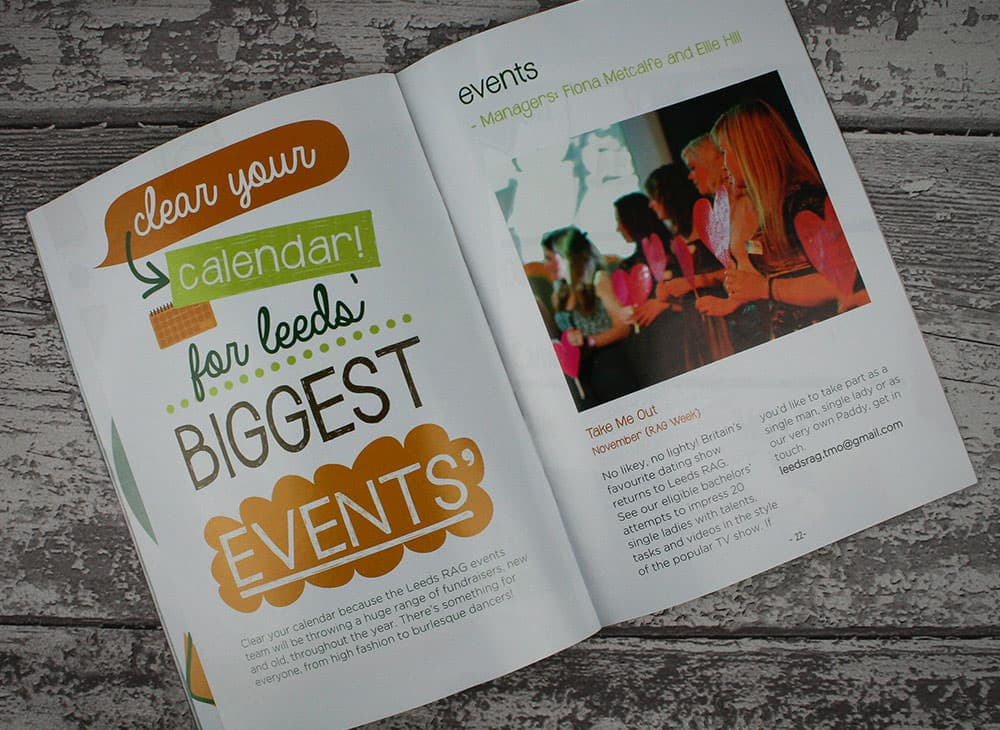 Charity Event Brochure Printing