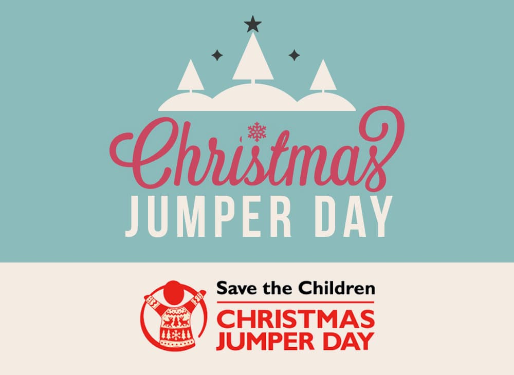 Christmas Jumper Day 2014 at Far'n'Beyond - Save the Children