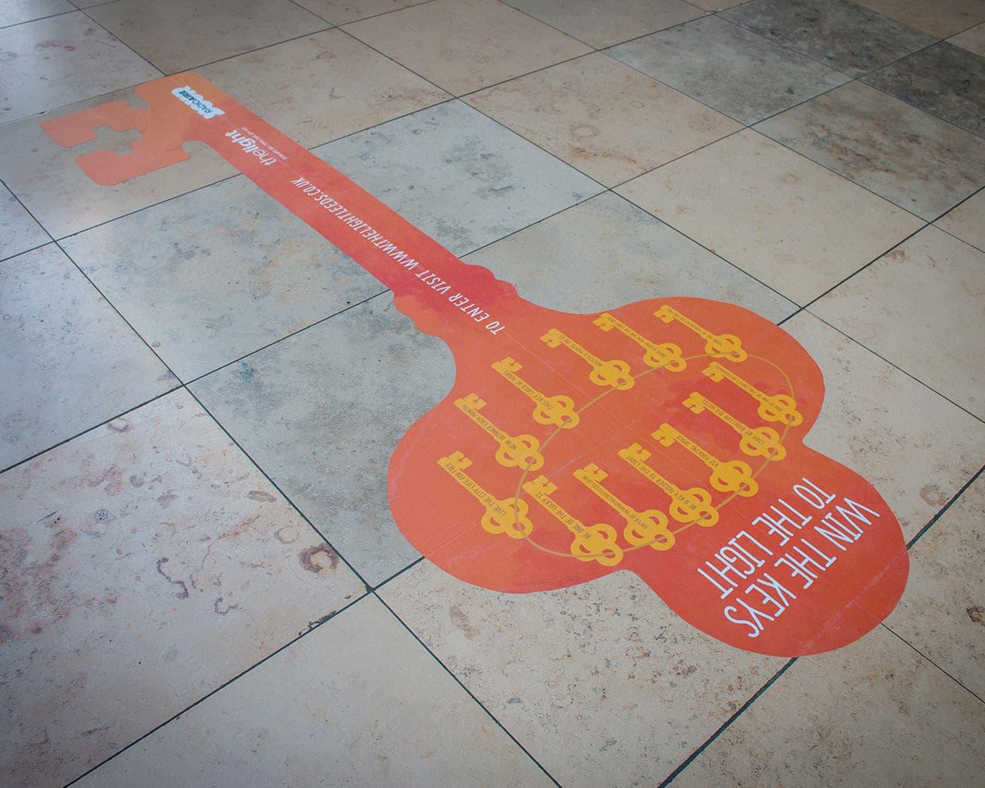 Floor-Sticker-Printing