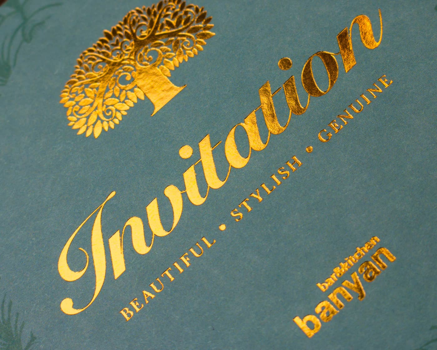 Foiled-Invitation