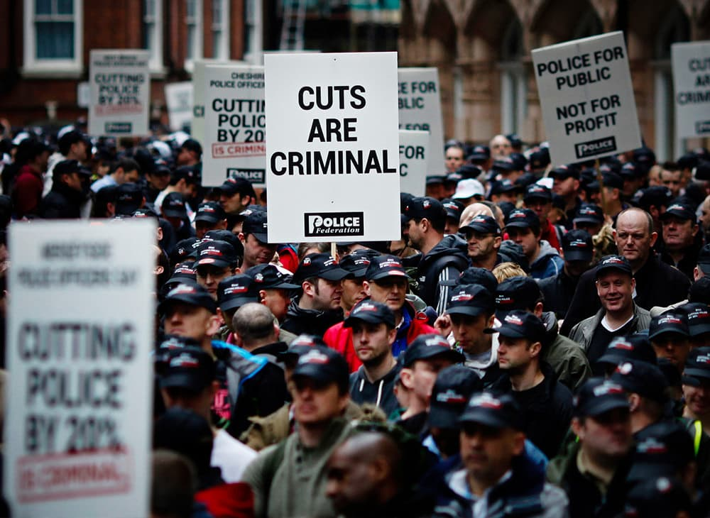 Printed Placards – Police Federation