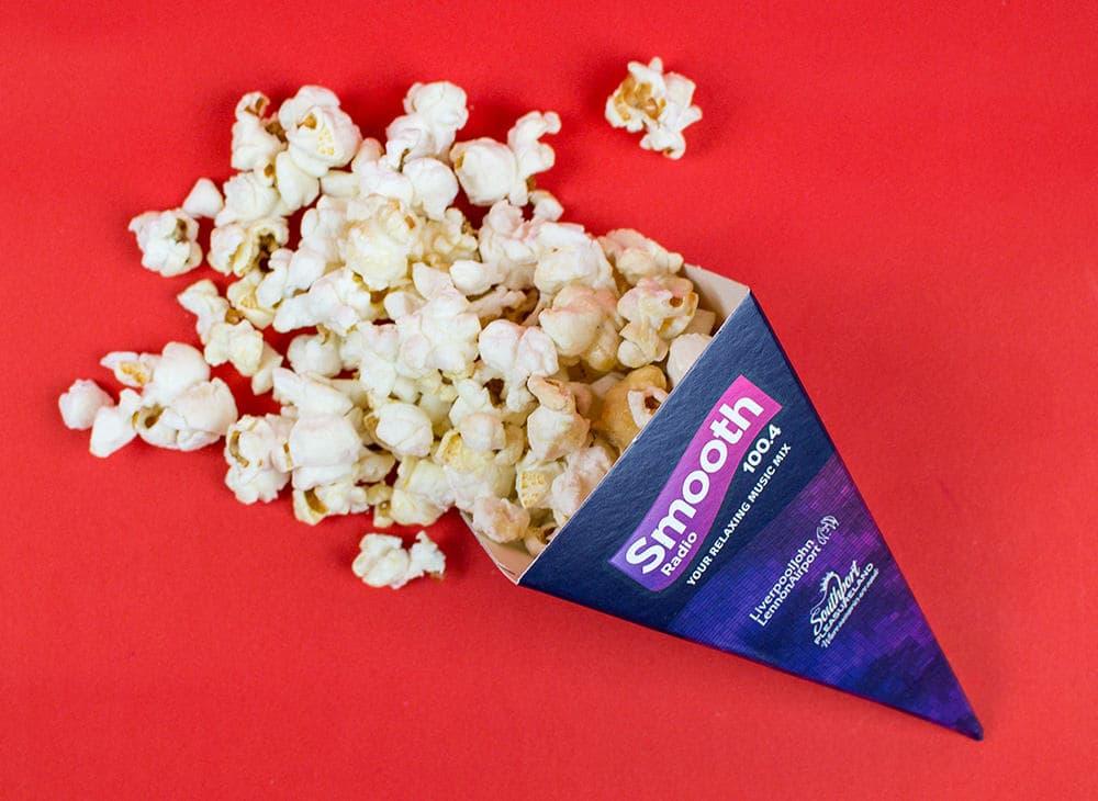 Popcorn Food Cones – Smooth FM