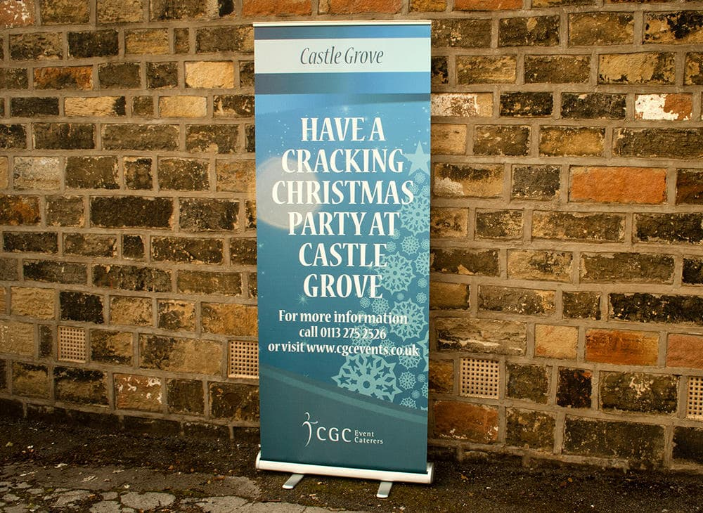 Roller Banner Printing – CGC Events