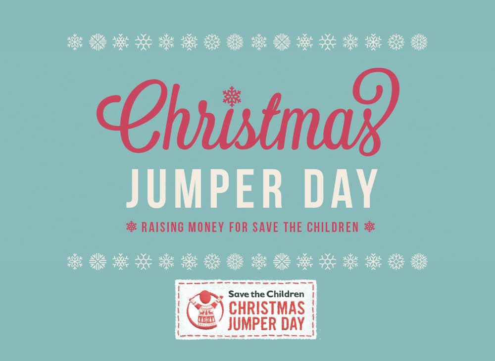 Christmas Jumper Day 2019 Save The Children.Christmas Jumper Day At Far N Beyond Save The Children