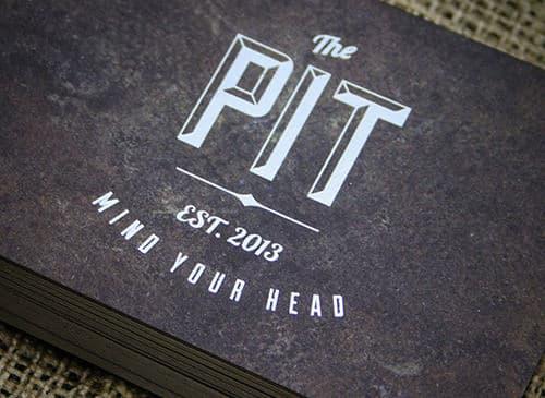 Satin Foil Invitations – The Pit