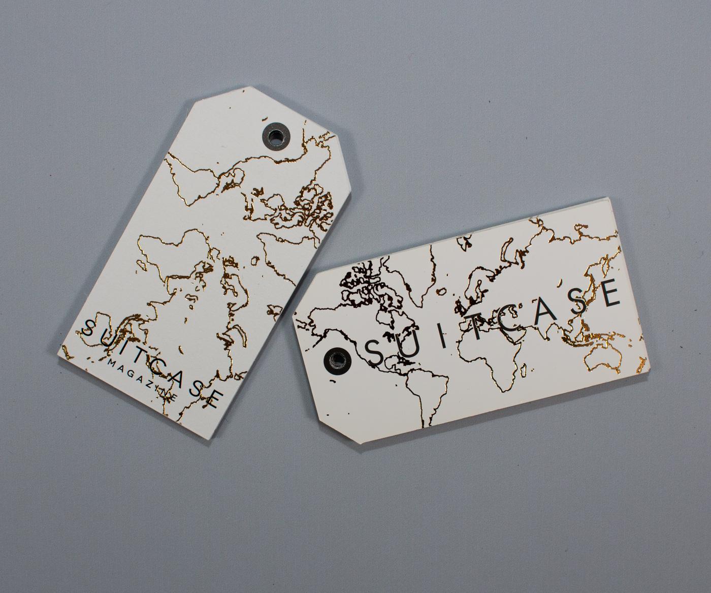 Busines Cards Gold Foil - Suitcase-5