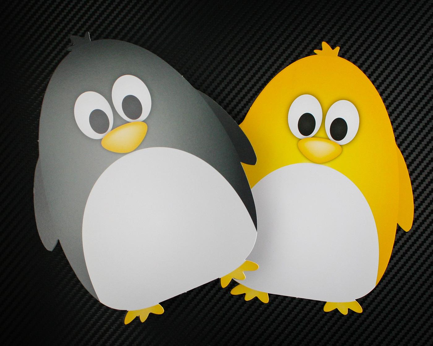 Cut-Out-Penguins