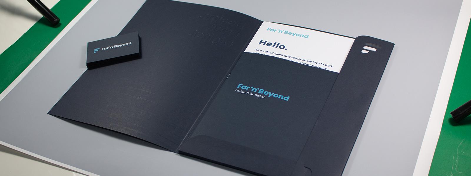 Custom Business Presentation Folder Printing & Production