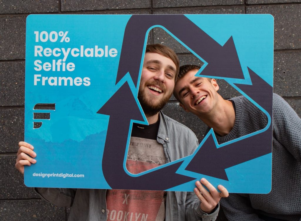 100% Recyclable Branded Promotional Selfie Frames By Far'n