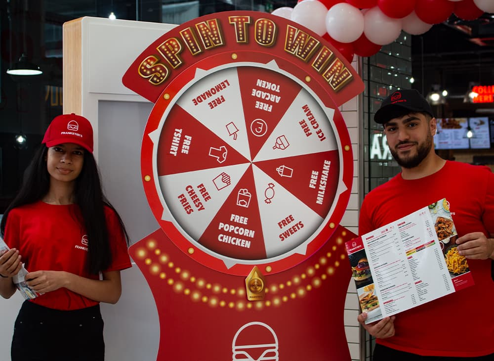 Product Launch Spin to Win