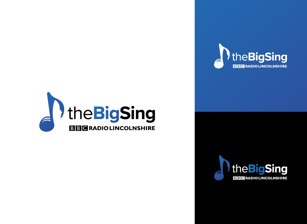 BBC Big Sing Creative Logo Design