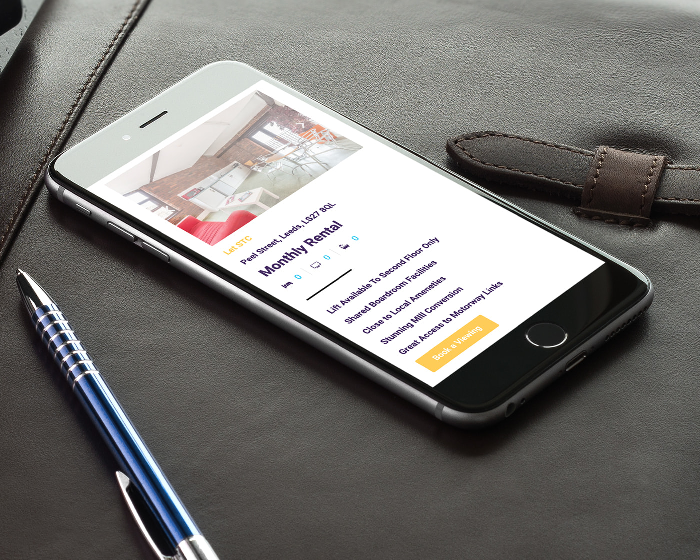 Lettings-Agent-Website-Design
