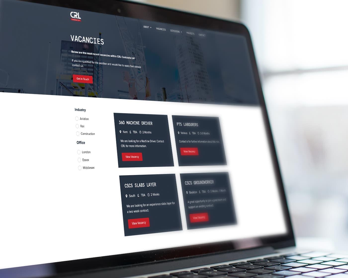 Job-Management-Website-Design