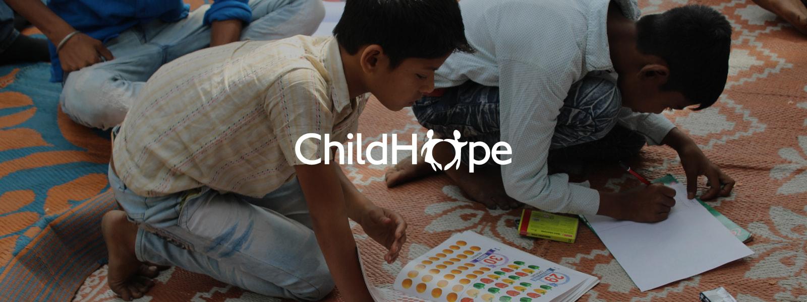 ChildHope, children reading books