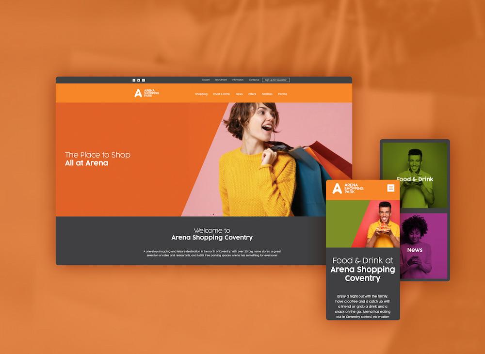 Retail & Leisure Park Website design & build